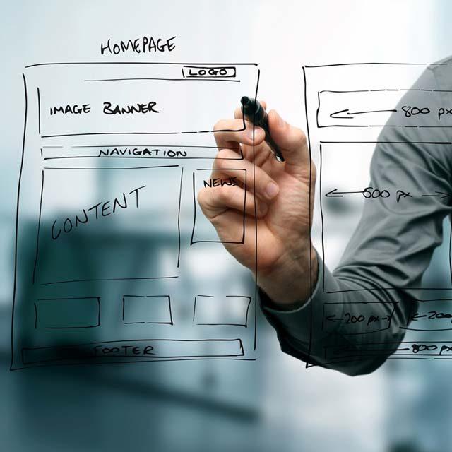 Como criar um website - design